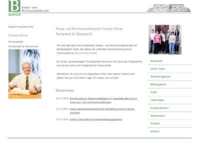 Steuer- und Rechtsanwaltskanzlei Christian Börner, Forchheim