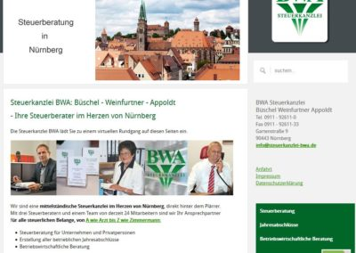 Steuerkanzlei BWA: Büschel – Weinfurtner – Appoldt, Nürnberg