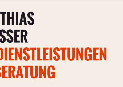 Mathias Messer – IT-Dienstleistungen, Oberasbach