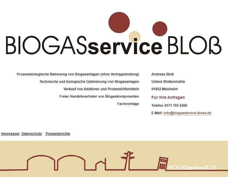 Biogasservice Bloß