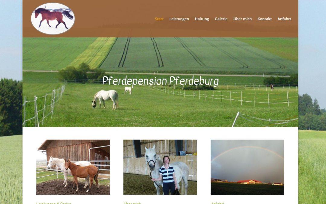 Pferdeburg – Pferdepension