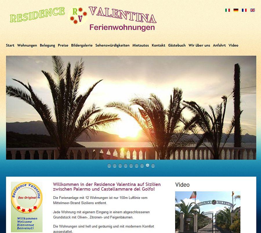 Residence Valentina auf Sizilien