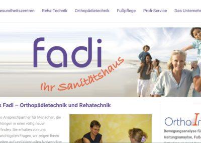 Sanitätshaus Fadi – Orthopädietechnik – Rehatechnik, Treuchtlingen und Weißenburg