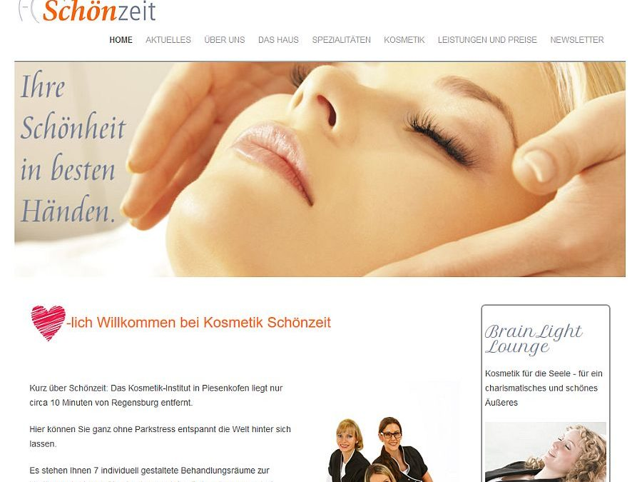 Kosmetik Schönzeit in Regensburg