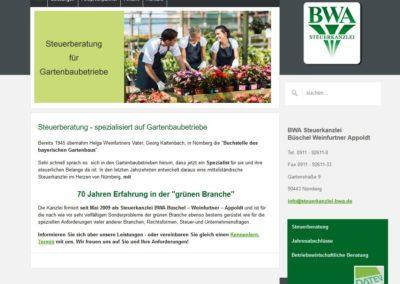 Steuerberatung für den Gartenbau