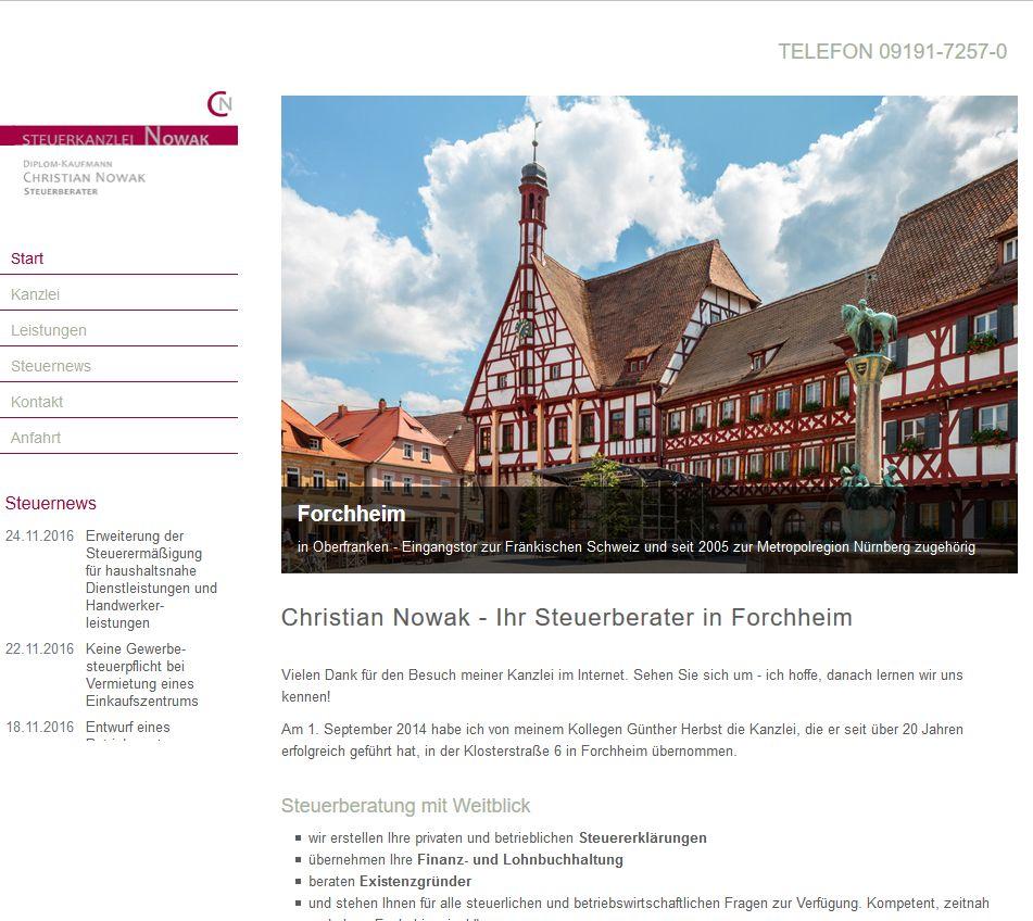 Steuerkanzlei Nowak, Forchheim