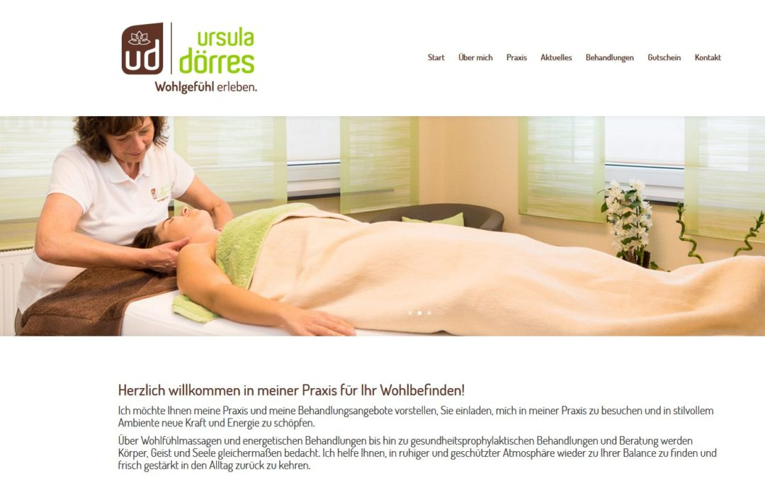 Ursula Dörres – Massagepraxis in Neuendettelsau