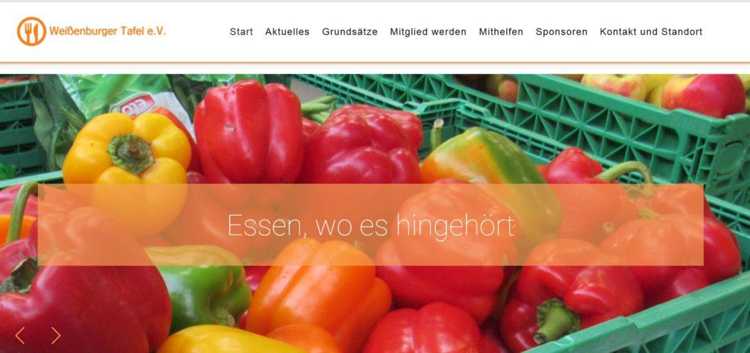 Weißenburger Tafel, ehrenamtliche Betreuung seit 2005